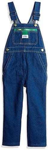Liberty Little Boys' Pre-School Denim Bib Overall, Rigid Blu