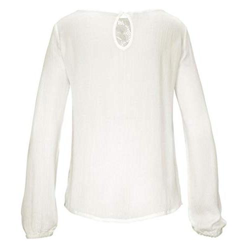 POHOK Casual Lace Blouse