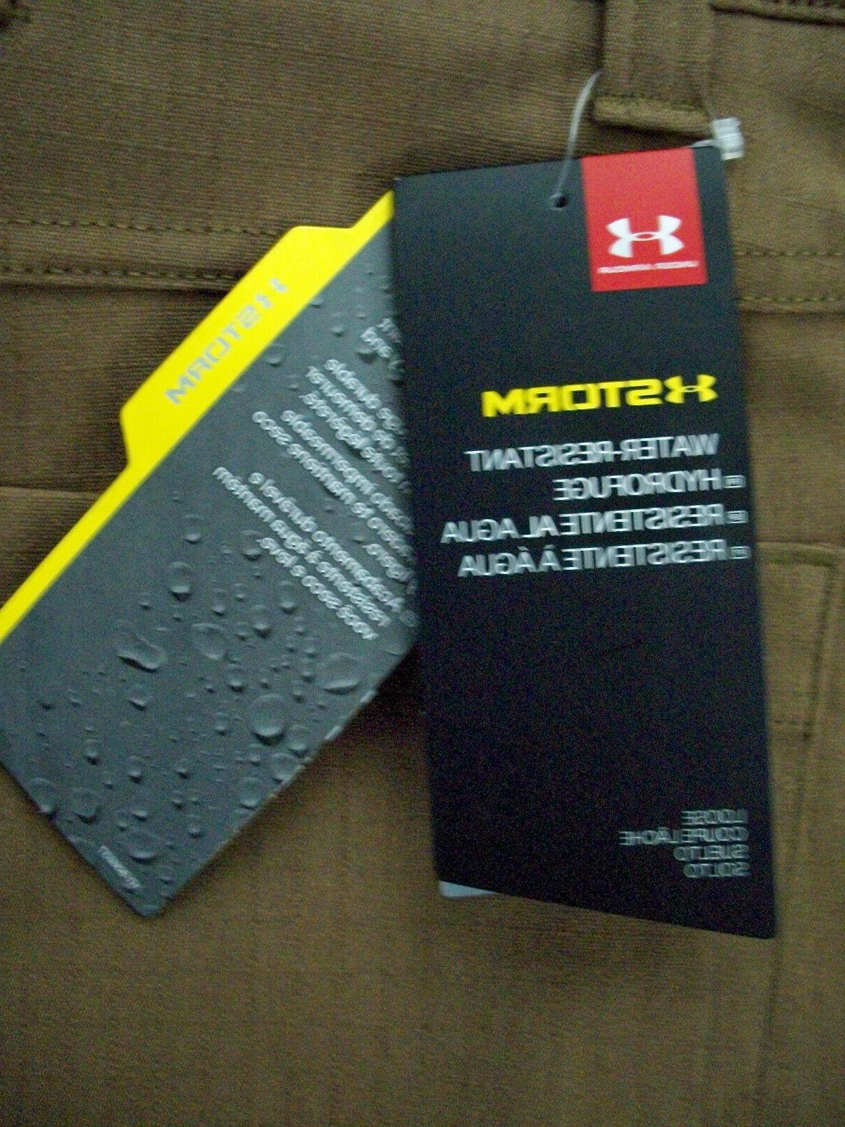 UNDER ARMOUR Water Tan Storm Pants/Jeans 40x34 $75