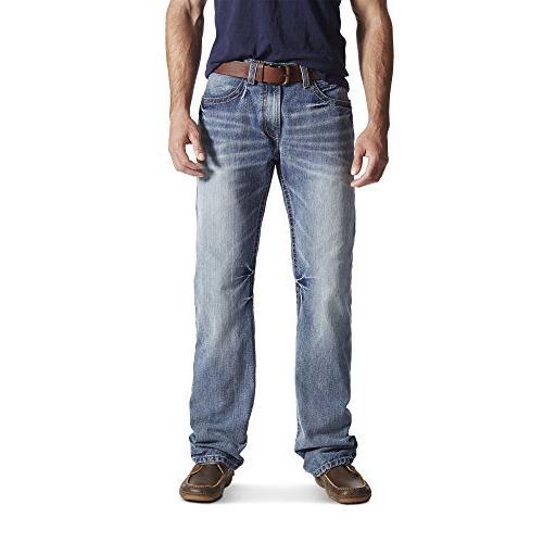 m4 rise boot cut jean