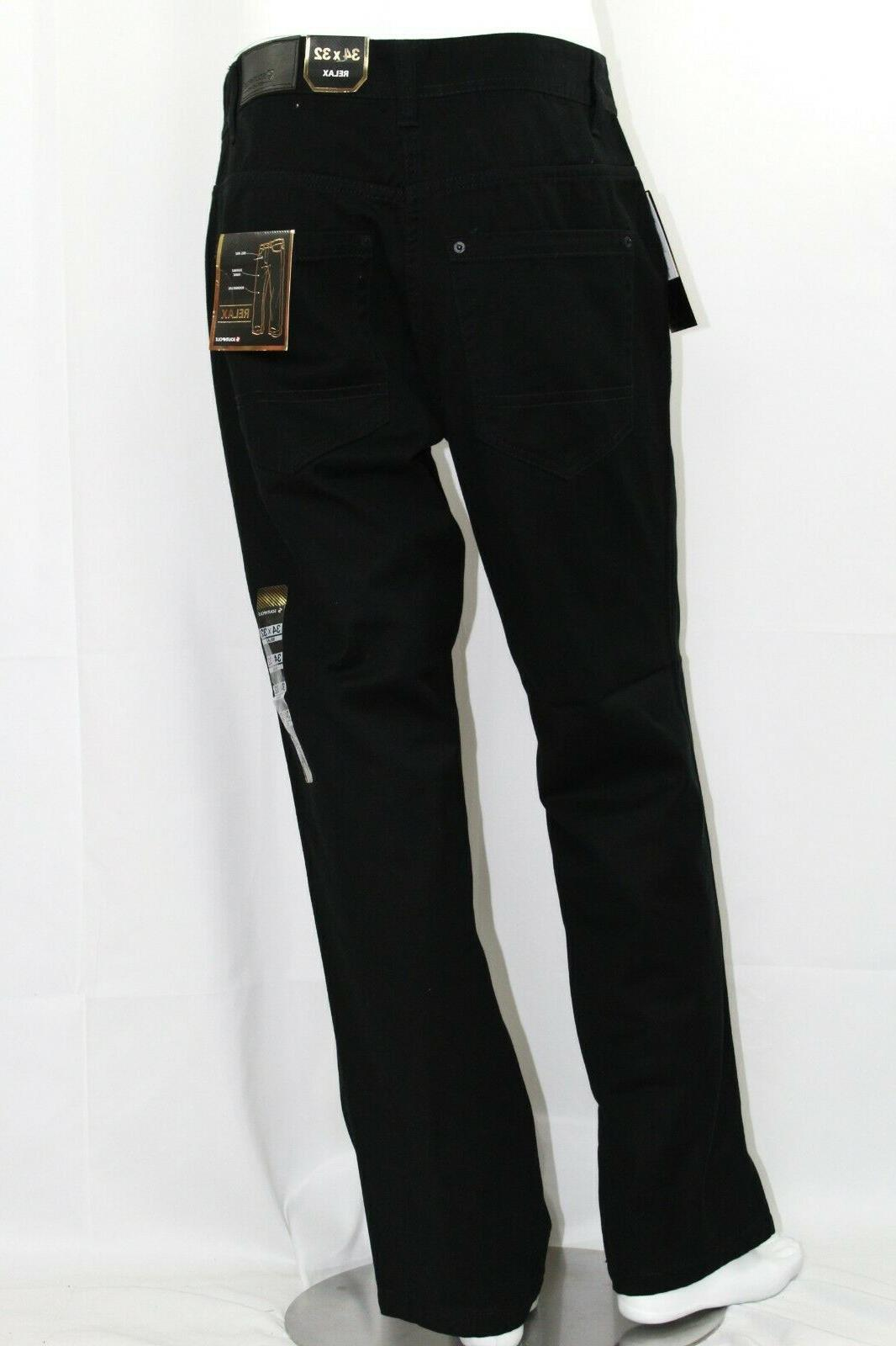 men denim jean pants 4180 relaxed fit