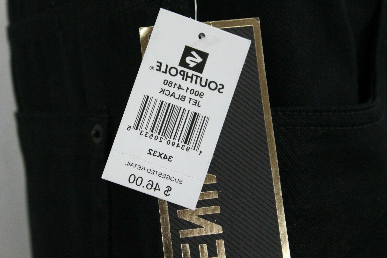 Men Denim Pants 4180 Jet Black Size