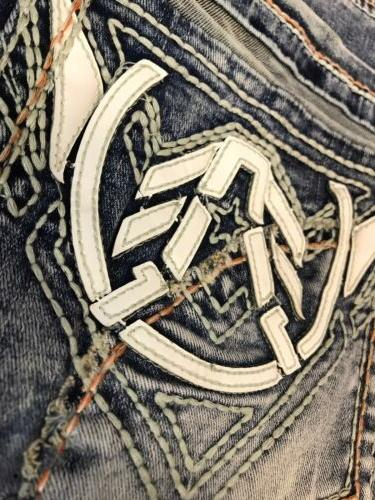 Jeans BATTLE FRAZIER Buckle $125