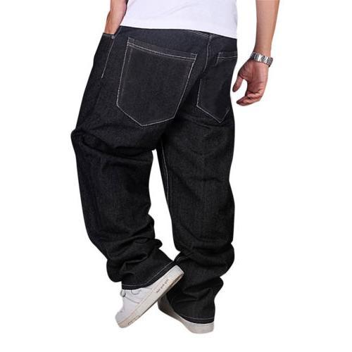 Men Loose Hip-Hop Skateboard Streetwear US