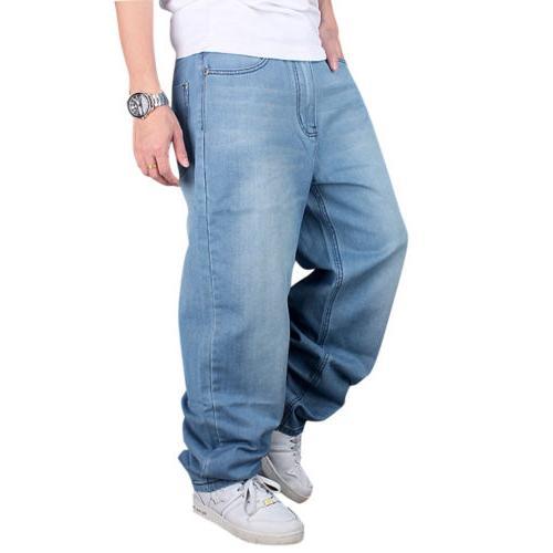 Men Loose Skateboard Pants