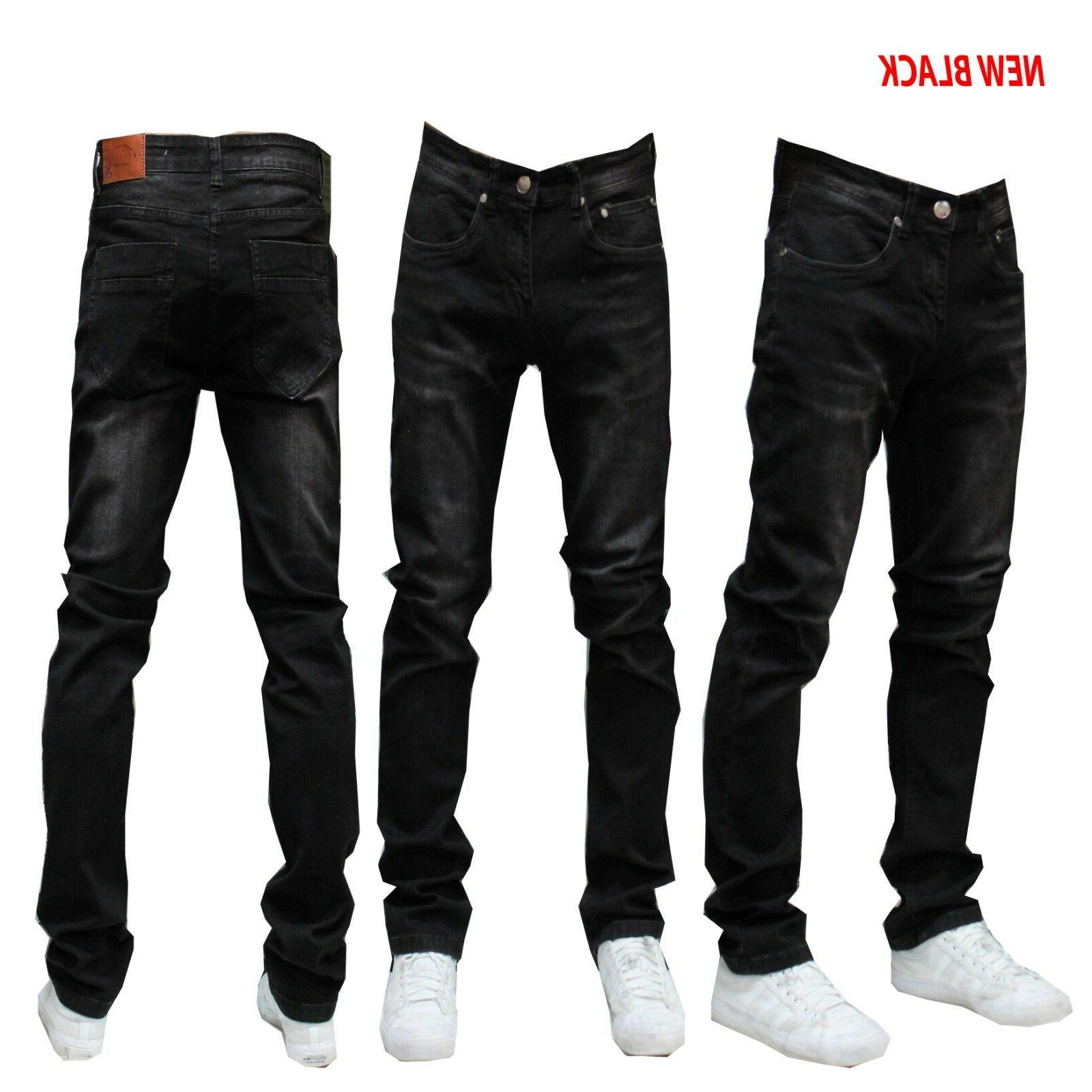 MEN Jeans Slim STRETCH FIT Casual WT02 BRAND