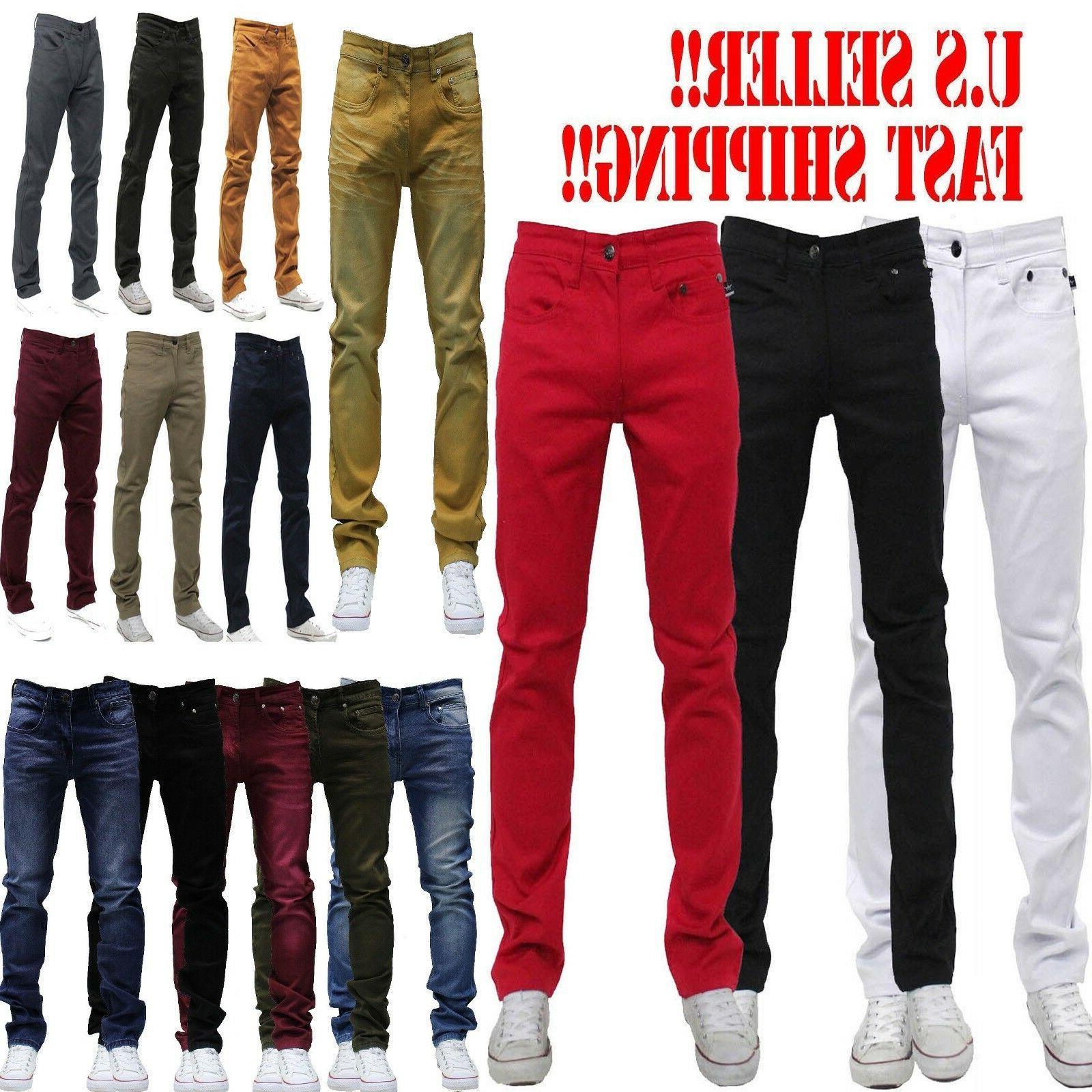men jeans slim stretch fit slim fit