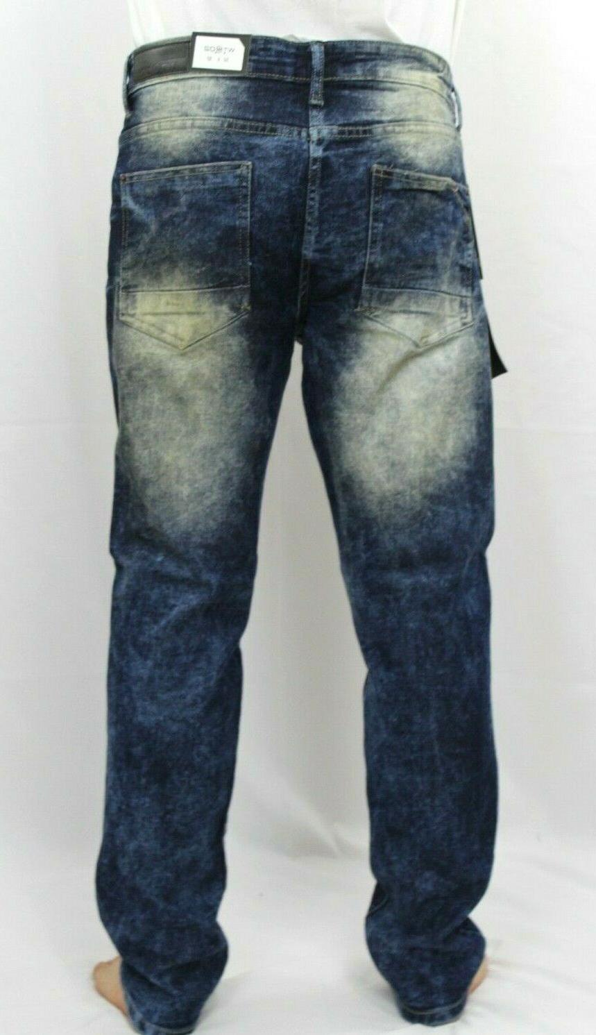 WT02 Ripped Stretch Distressed