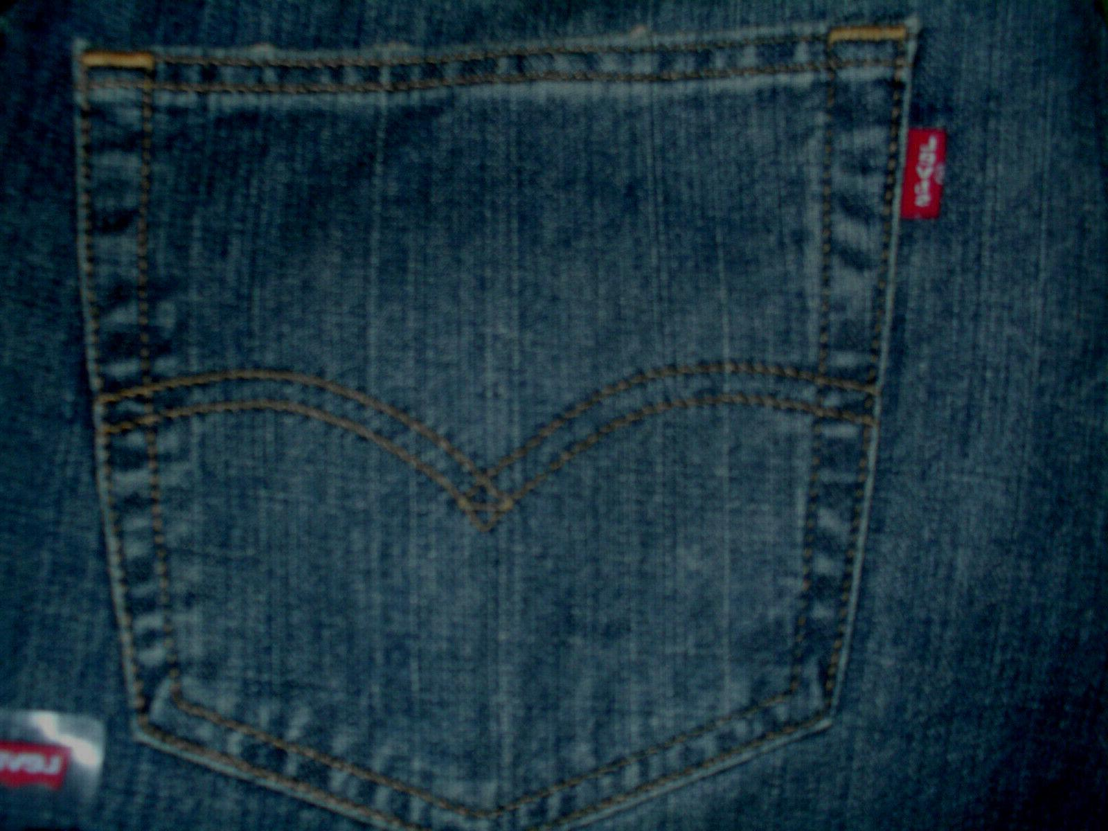 Men's Levi's Navarro Blue Dark Wash Straight