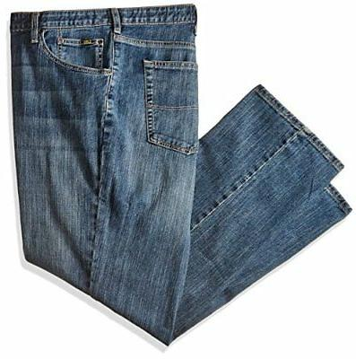 LEE Men's Big and Tall Premium Select Custom Fit Relaxed Str