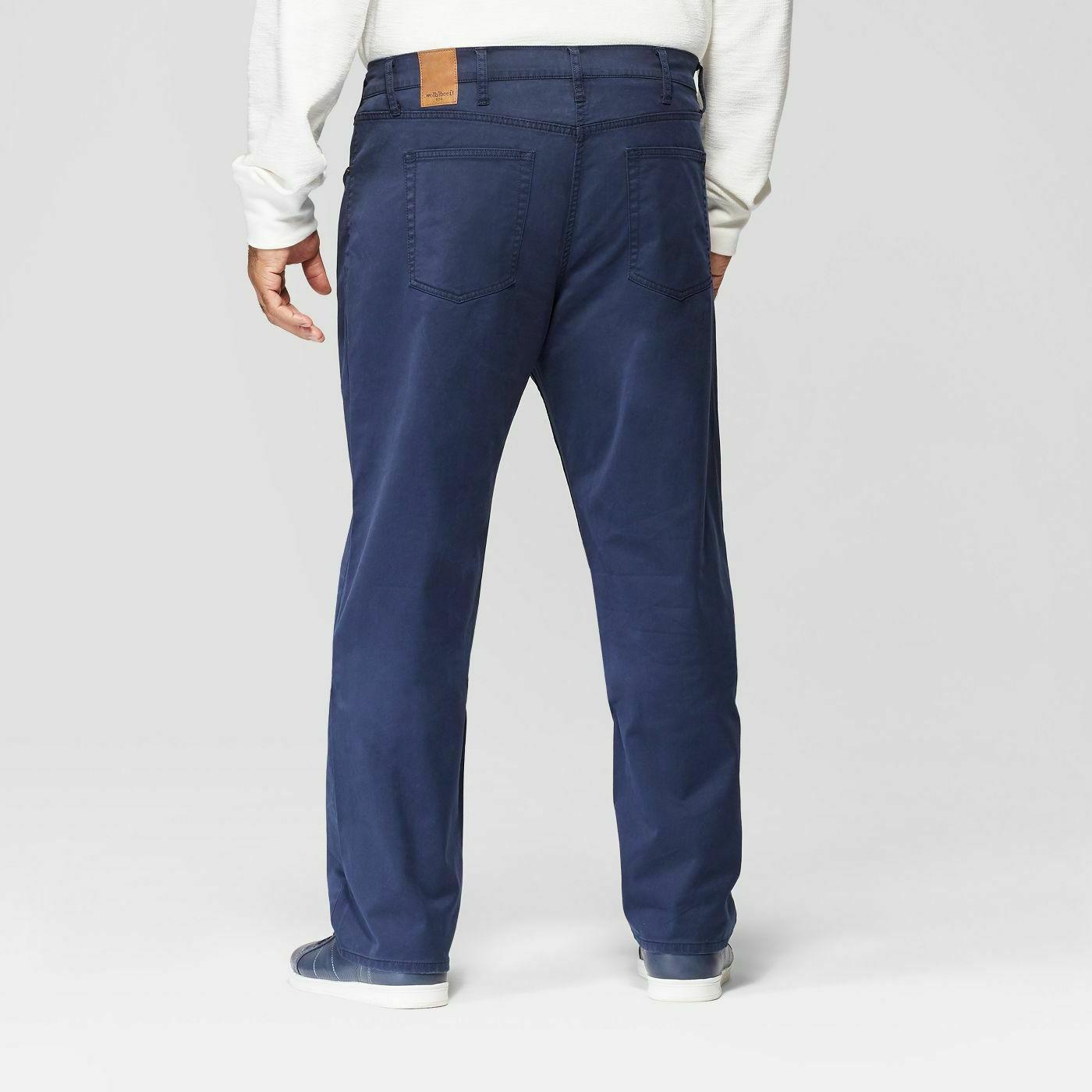 Men's Big Slim straight fit Pants Goodfellow Co Flex- Free ship