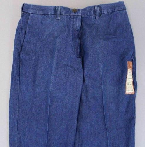 Haggar Men's Fit Flat SV3 Blue 30