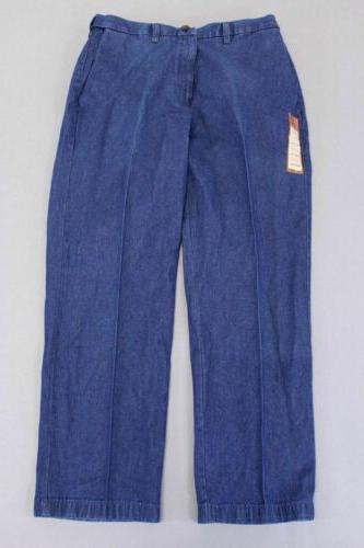 men s classic fit flat front jeans