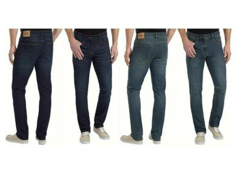 most popular sale uk shopping Izod Men's Comfort Stretch Straight Fit Jeans Variety Sizes Pick Color Size  NWT