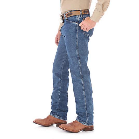 WRANGLER Men's Cowboy Cut Blue Jeans