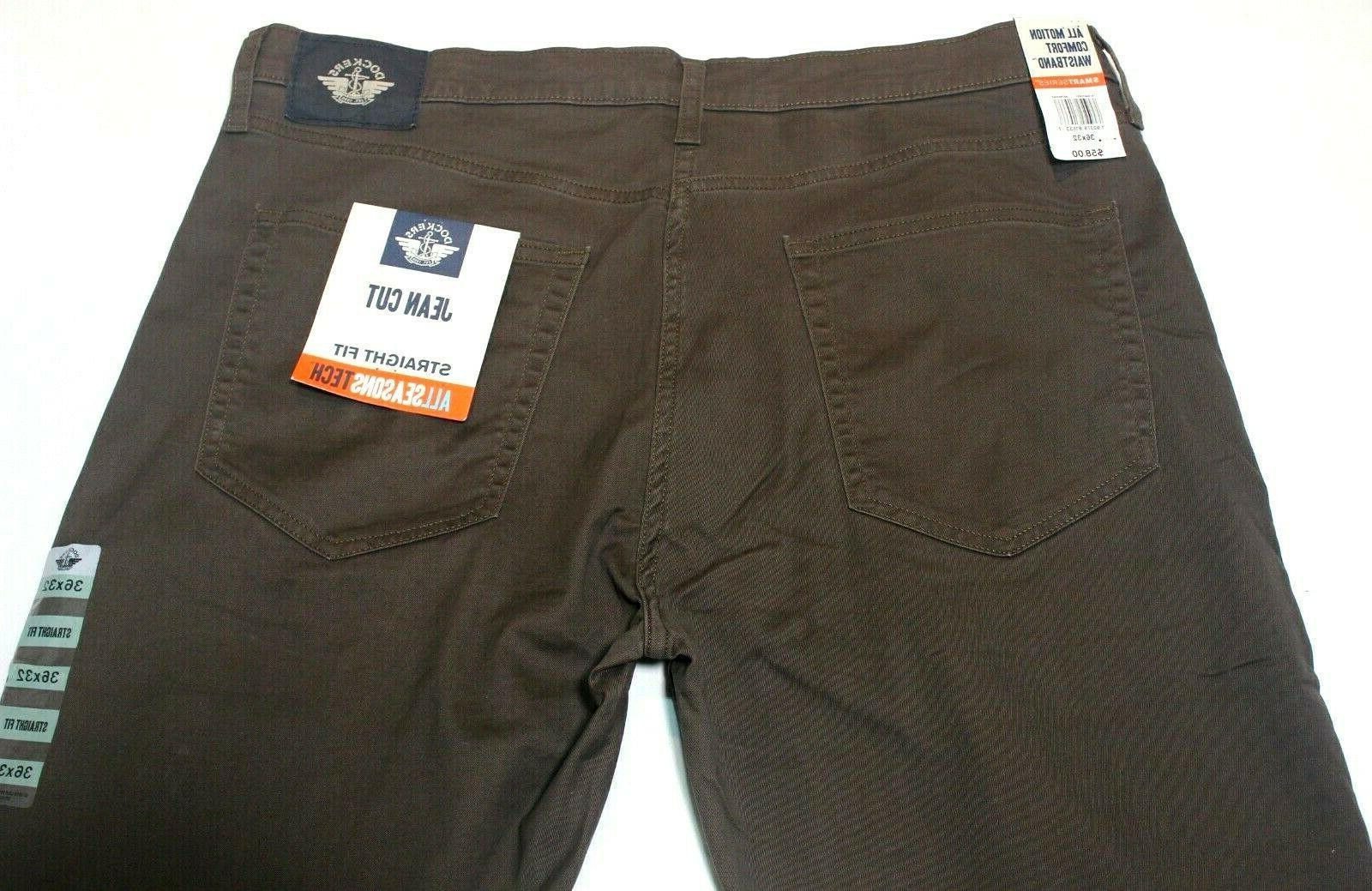 Men's Dockers Dark Jean Cut All Seasons Pants
