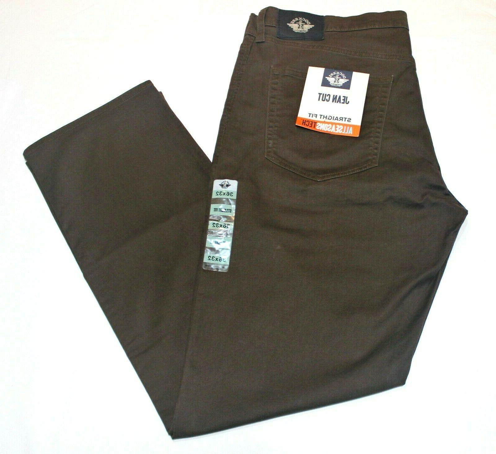 Men's Dockers Jean Cut Straight All Seasons Stretch Pants