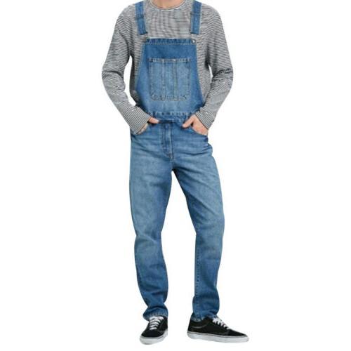 Men's Full Length Jeans Suspender