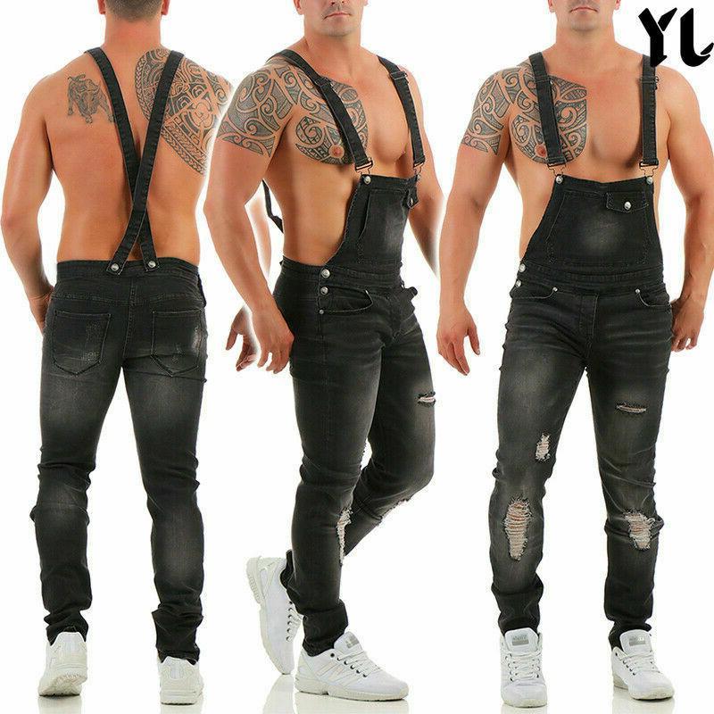 2019 JY Trousers Bib Vintage Regular Jeans