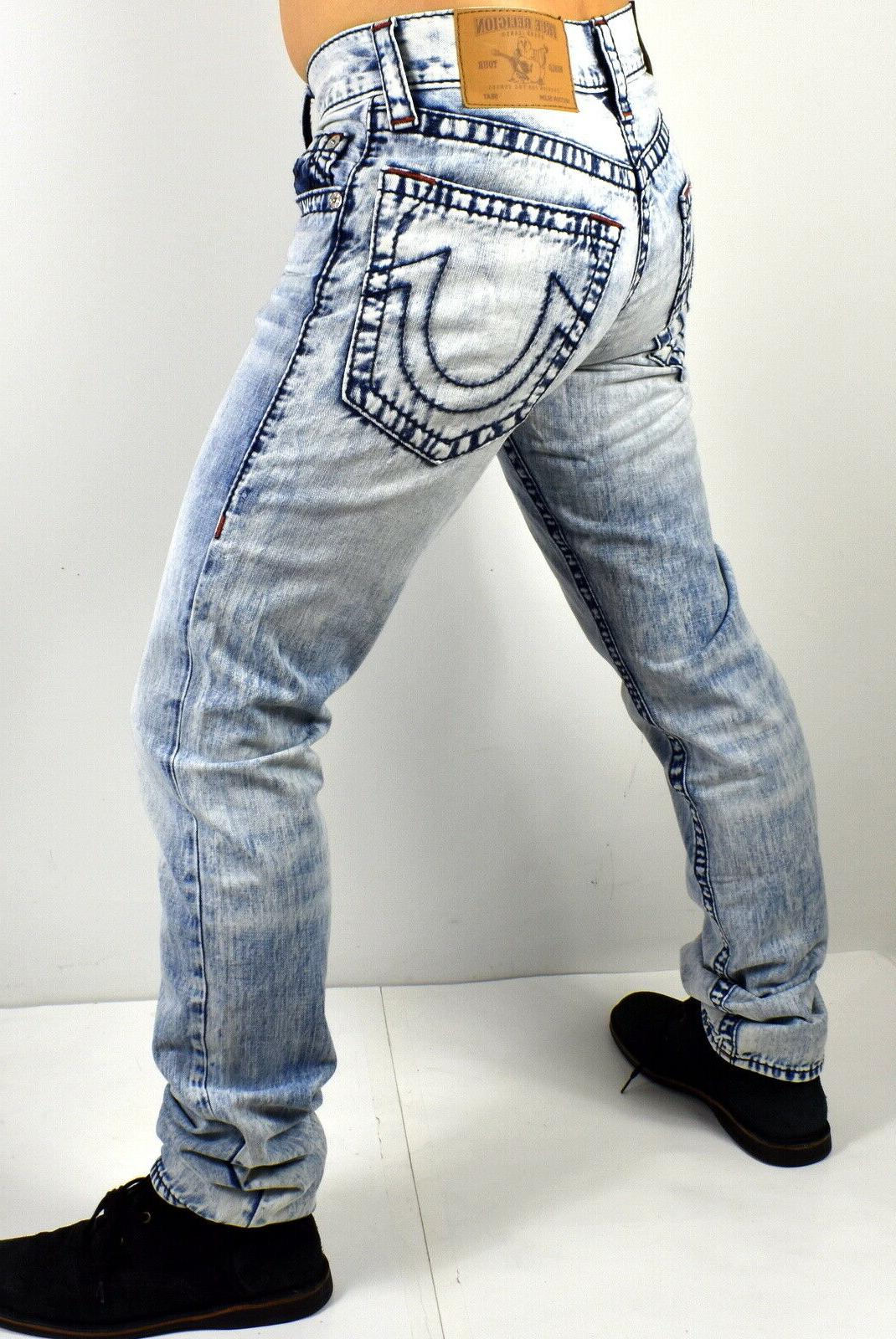 True Religion Geno Falling Big Relaxed Jeans 101491