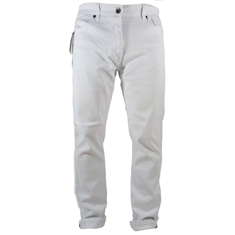 Southpole Mens Basic Flex Slim Straight Stretch Fit Washed Denim Pants Long