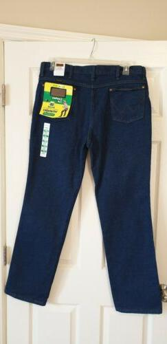Men's Wrangler Jeans Cowboy Cut 936 Slim Fit Rigid Denim Boo