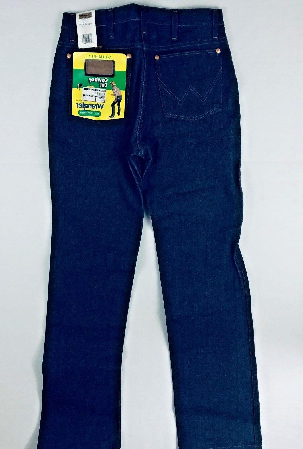 Men's Cut 936 Fit Rigid Denim Medium Blue Bootcut