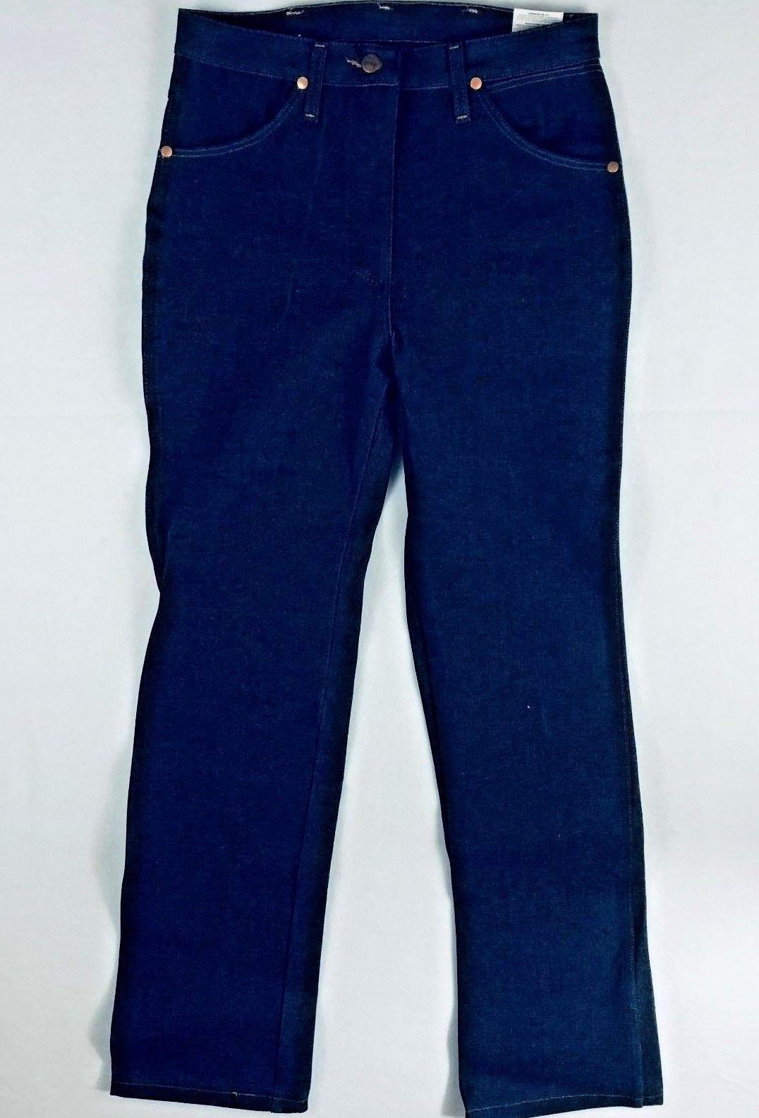 Men's Wrangler Jeans Cut Rigid Denim Bootcut
