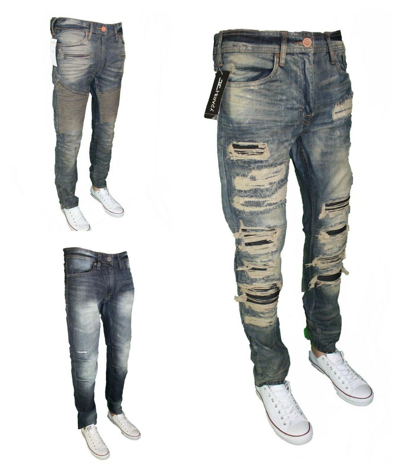 Men's Jordan Craig Jeans Ripped SLIM STRETCH SIZE