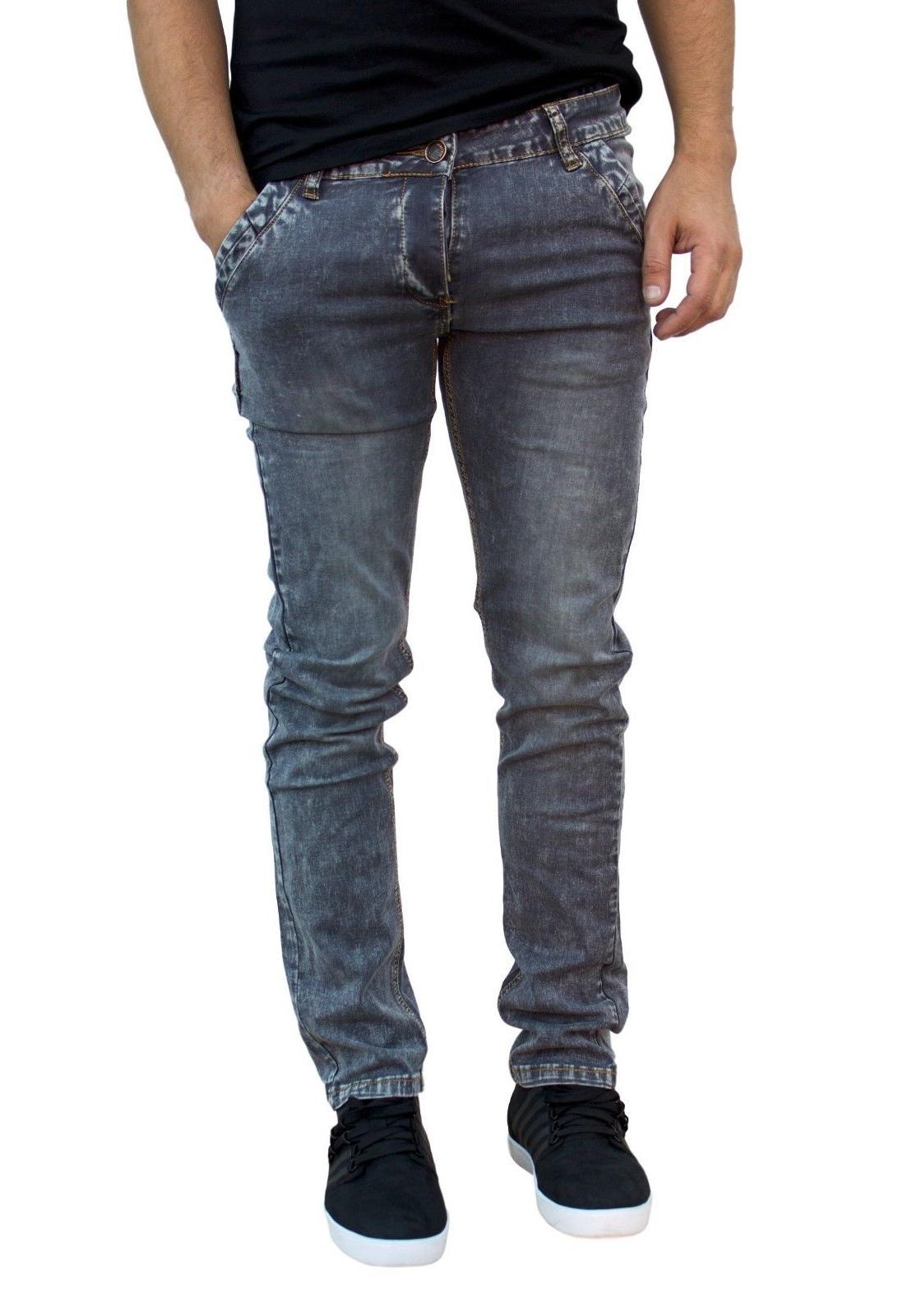 Men's jeans, Slim fit Stretch denim