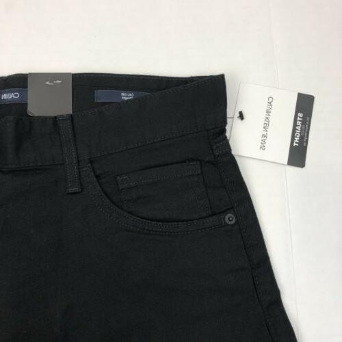Calvin Klein Men's Straight Stretch Cotton Black