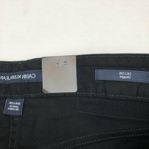 Calvin Klein Straight Twill Stretch Cotton