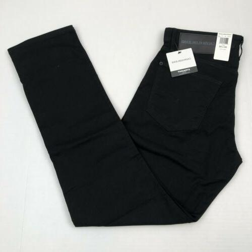 men s jeans straight fit twill stretch