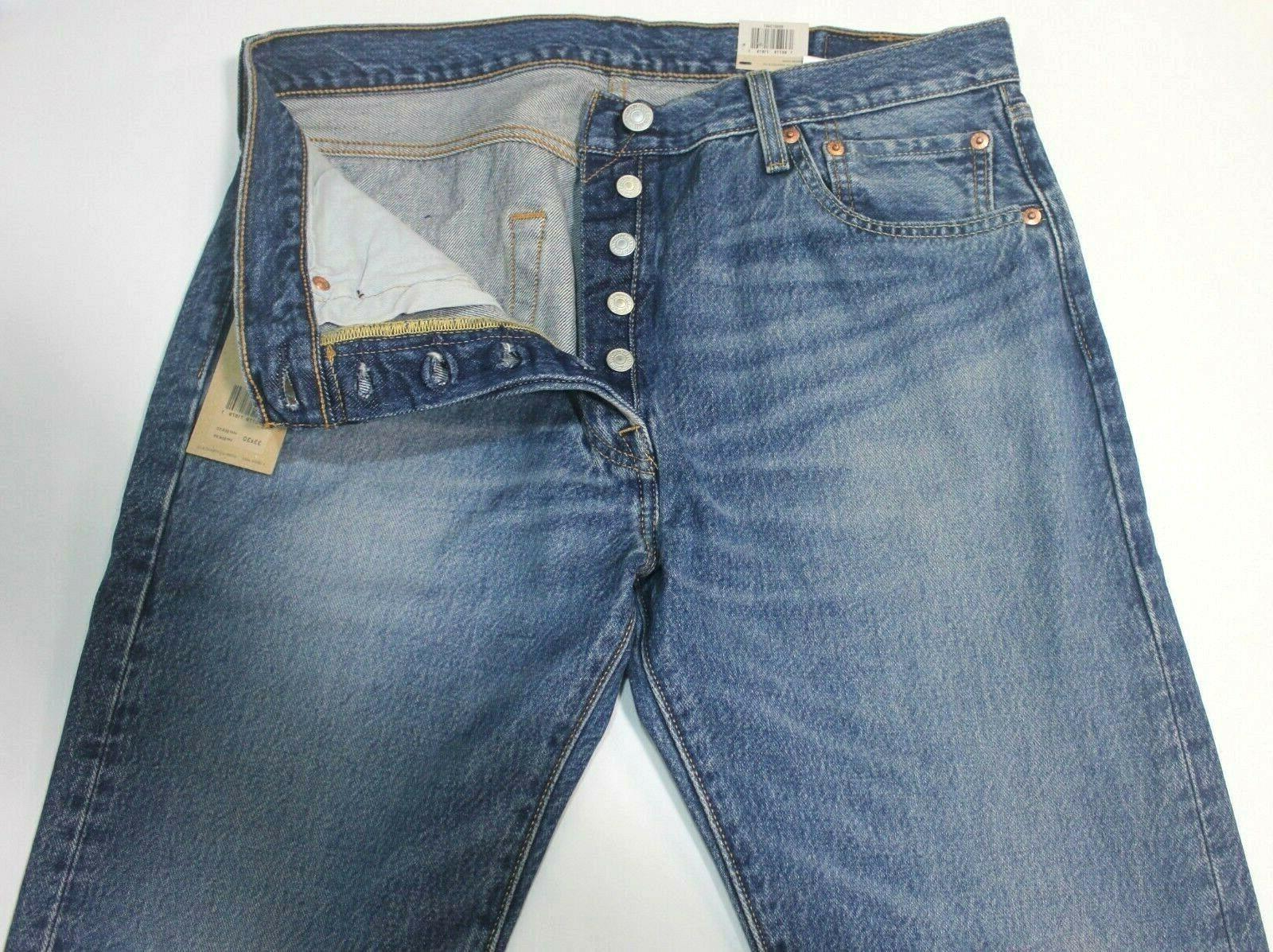 Men's Levi's 501 Medium Leg Fly Jeans