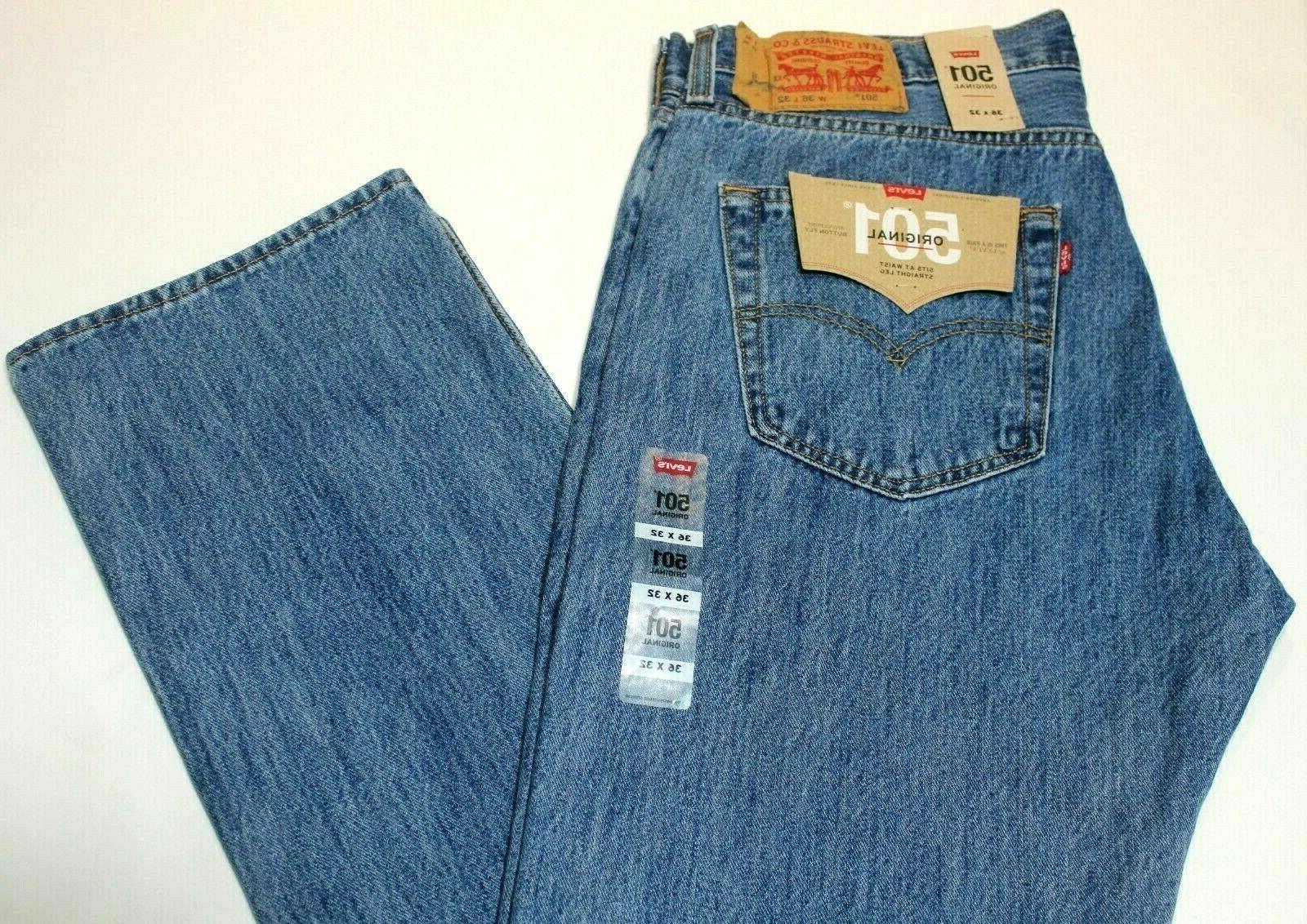 Men's 501 Leg Button