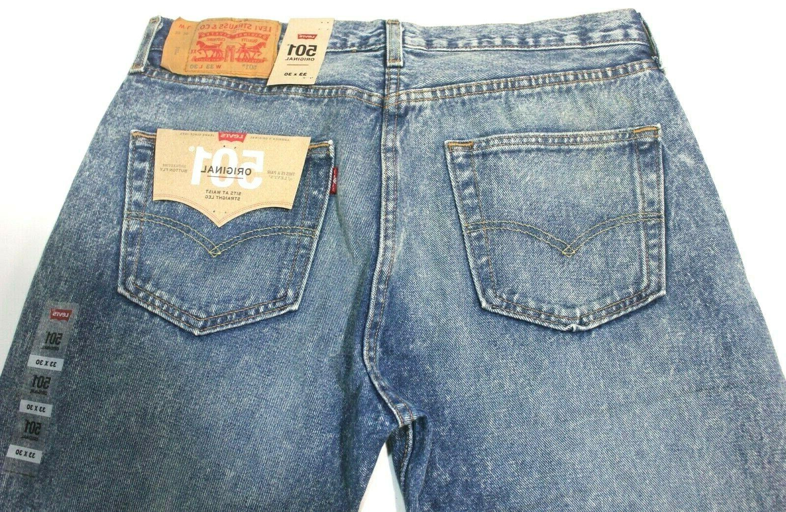 Men's Levi's 501 Age Faded Leg Fly - 005012715