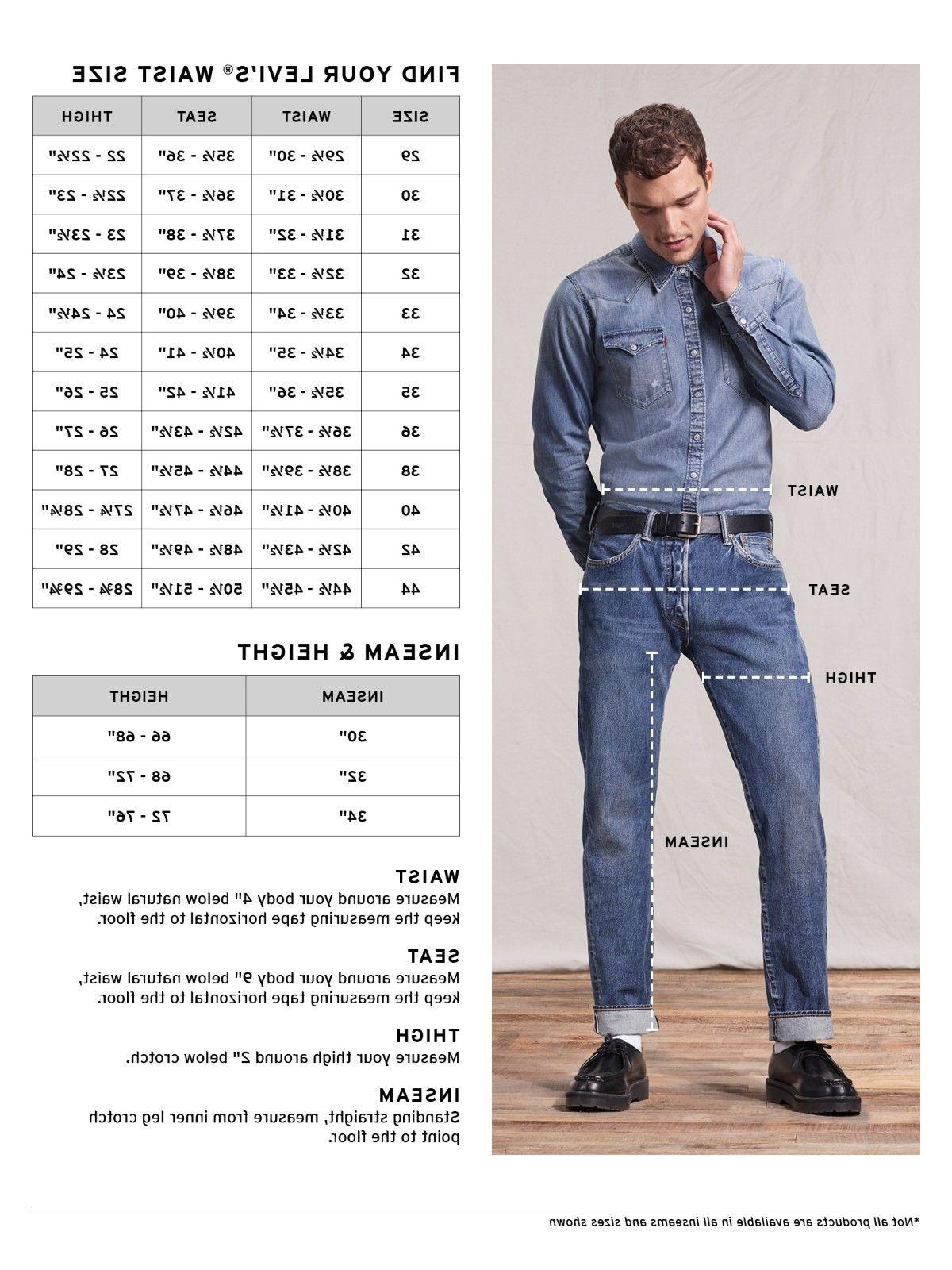 Men's Fit Sizes