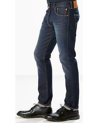 Levis Levi's Blue 501 Original Fit Stretch -