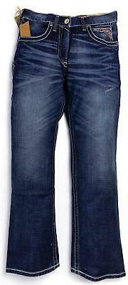 ARIAT Men's M4 Low Rise Adkins Stretch Boot Cut Jeans in Tur