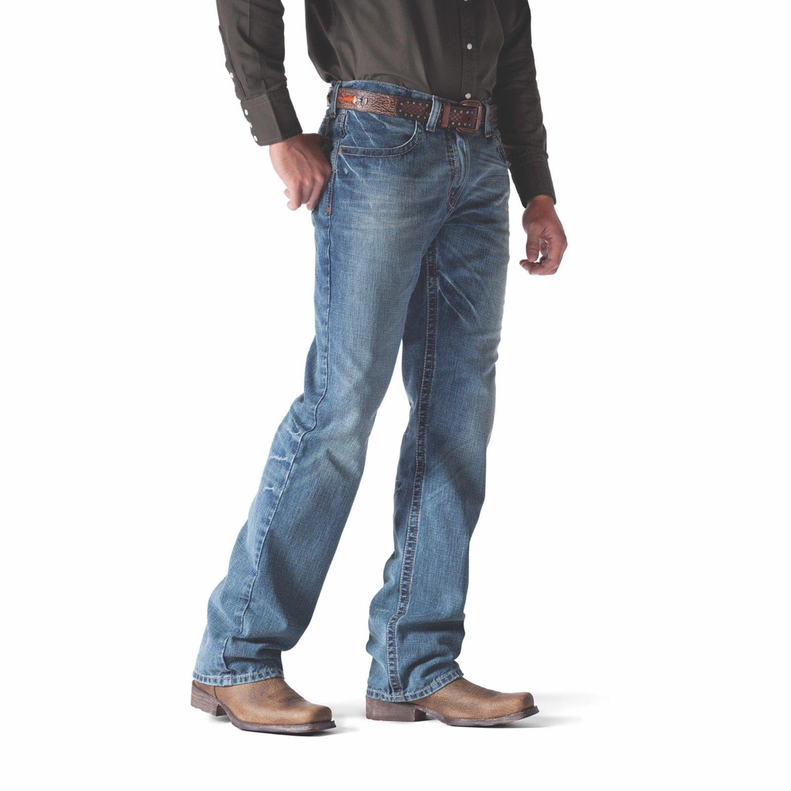 Ariat® M4 Rise Relaxed Boot Cut Jeans