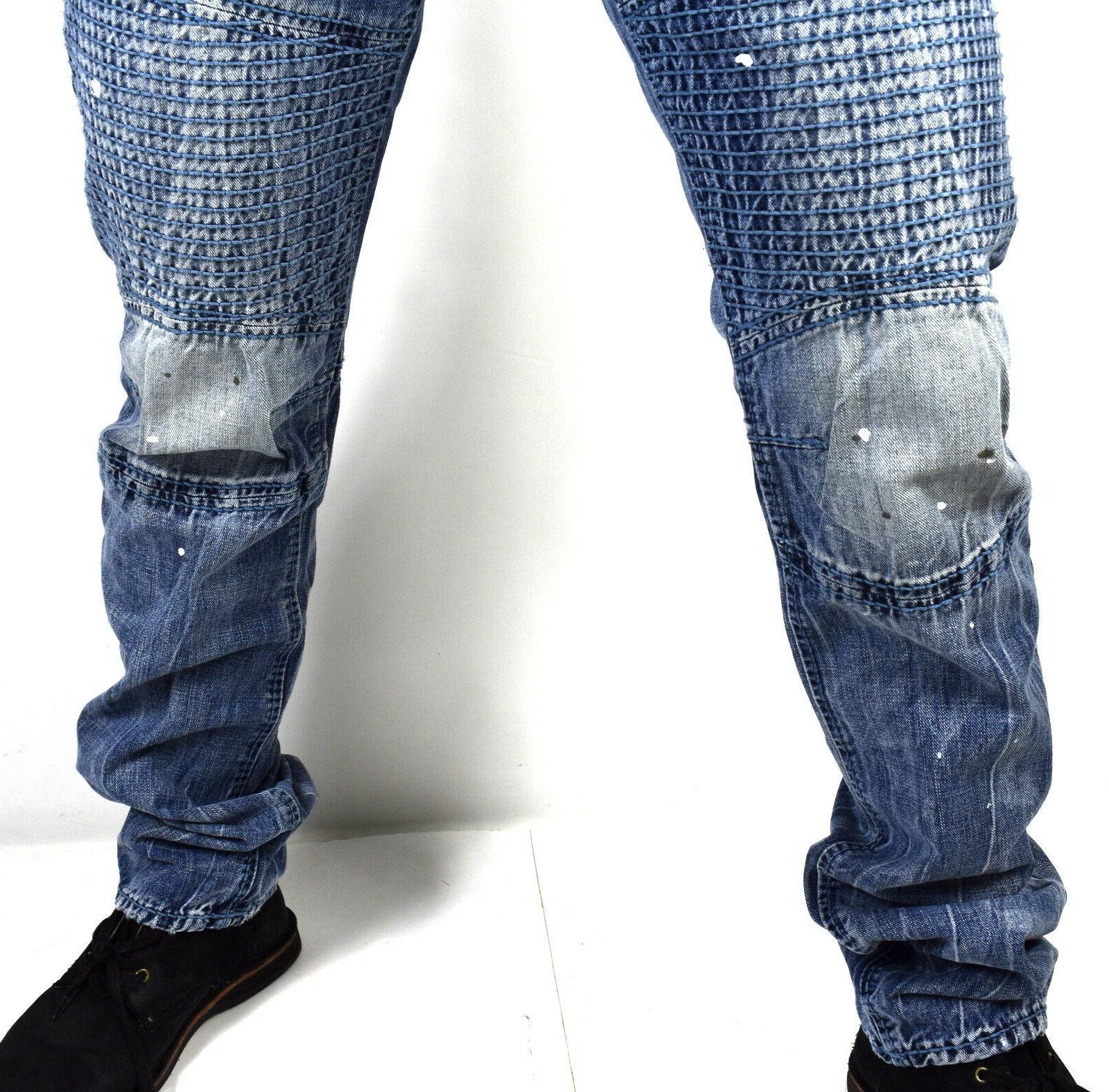 True Religion Men's Relaxed Slim Brand Jeans 101483
