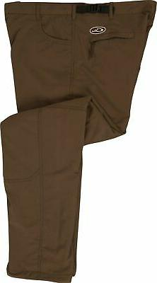 Drake Men's MST Jean Cut Wader Pants Polyester Brown Medium