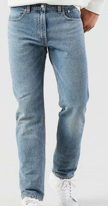 Men's 30 30 Levi's 502 Blue Regular Tapered