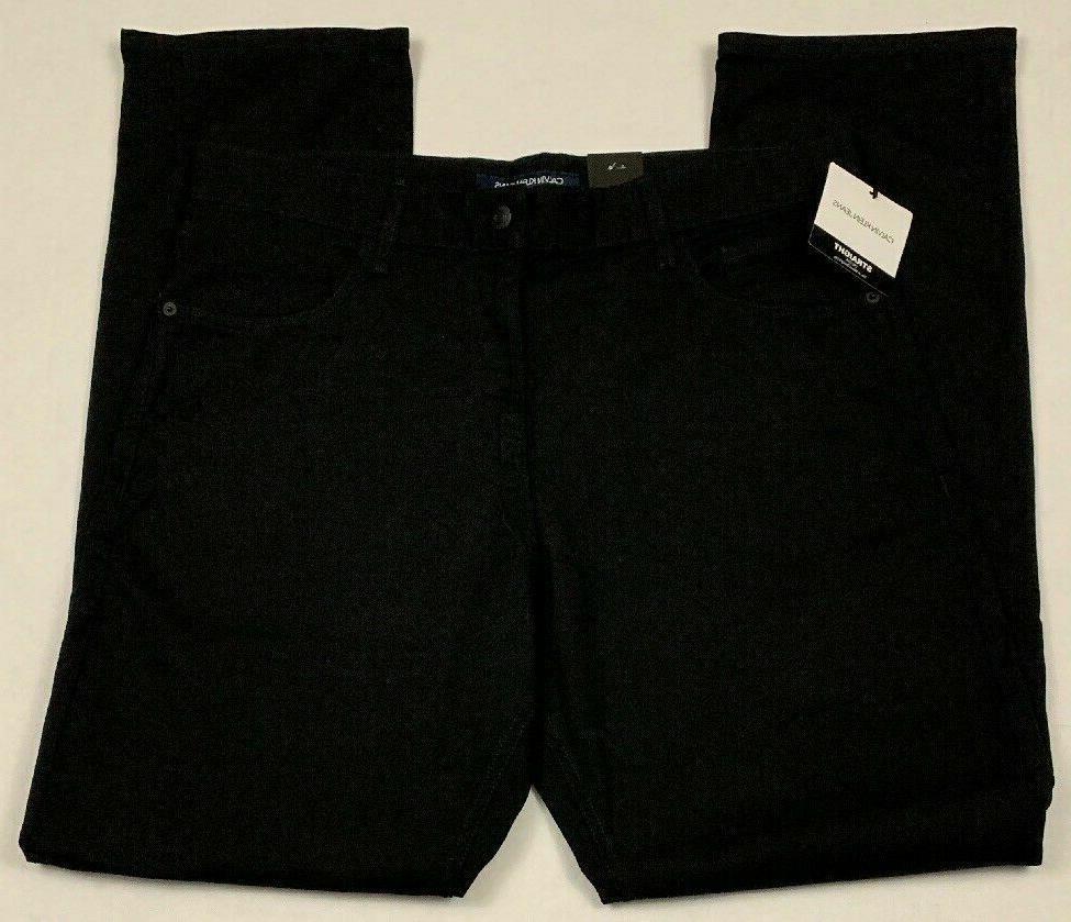 Men's NWT Calvin Jeans 34x34 Straight Black