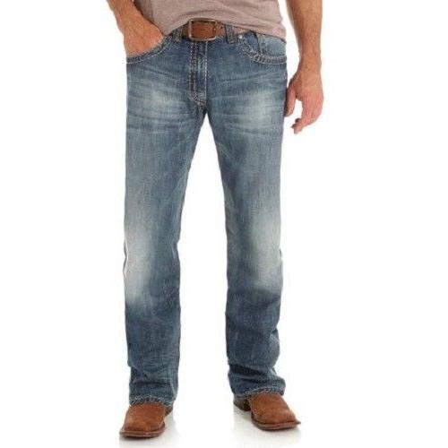 Men's 47 Medium Mid Rise Cut Jeans