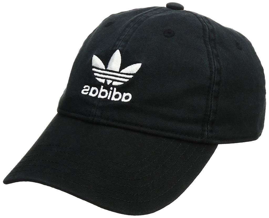 adidas Originals Strap Back Cap Trefoil Denim