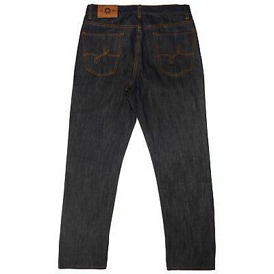 LRG Men's True Straight Denim Jeans Indigo Casual