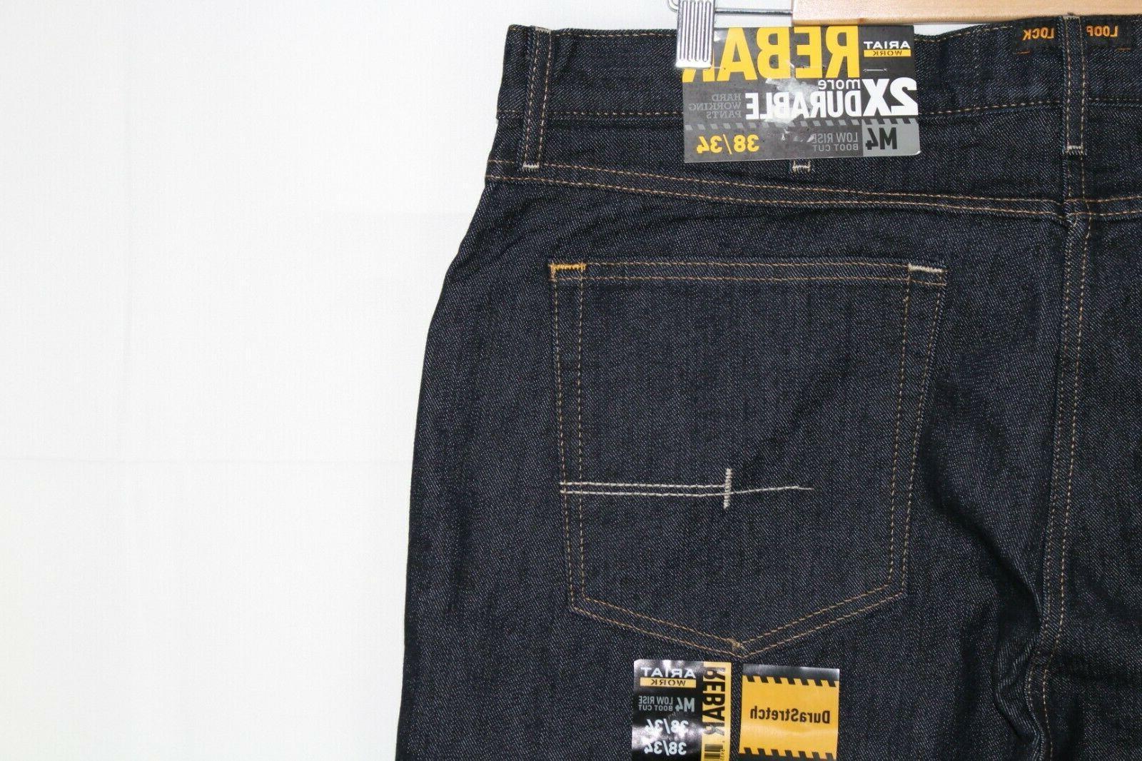 Ariat Durastretch Low Work Jeans Rinse