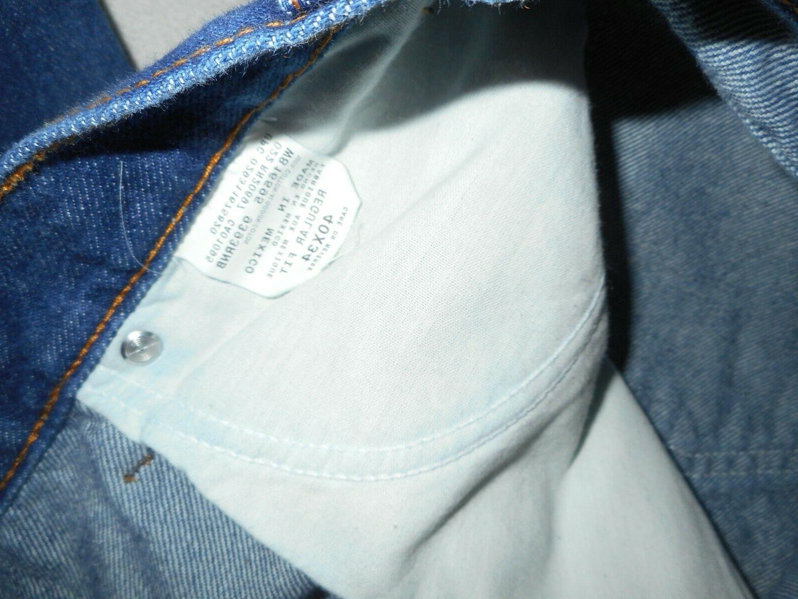 "Men's Dickies ""Regular Jeans *Size Lots of Reserve"