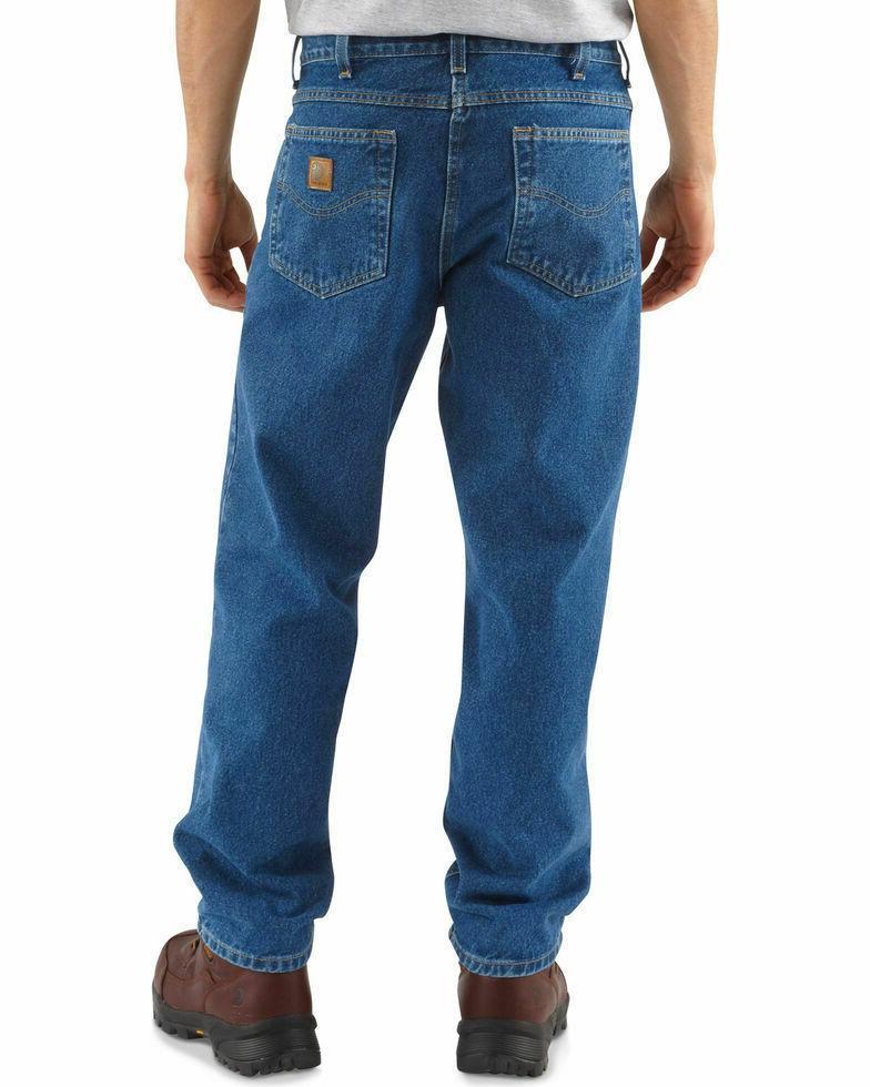 Carhartt Men's Fit Straight 44x36 jeans
